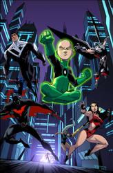 Justice League Beyond 18 by KharyRandolph
