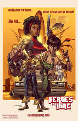Heroes for Hire by KharyRandolph