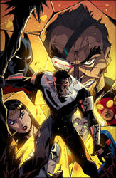 Batman Beyond Universe #4 by KharyRandolph