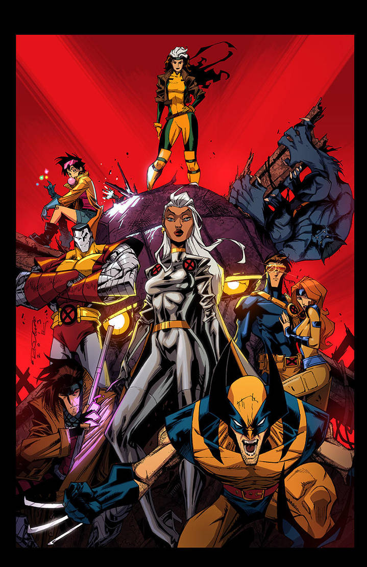 X-Men :: 1991 by KharyRandolph