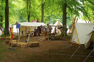Viking Camp by Benthor