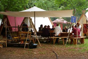 Viking Camp II by Benthor