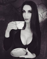 Morticia Addams Cosplay by Beaupeep101