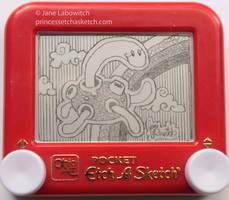 Shuckle etch a sketch by pikajane