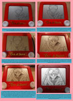 Sailor Moon etch process by pikajane