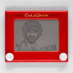 Bob Ross Etch A Sketch by pikajane