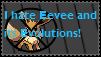 I hate Eeveelutions Stamp by Latias4ever