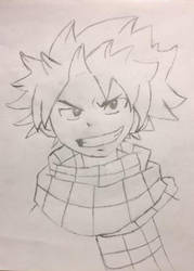 Natsu Dragneel by thiccboii