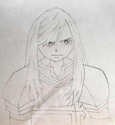 Erza Scarlet by thiccboii