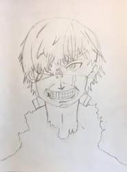 Kaneki Ken by thiccboii