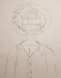 Monkey D. Luffy by thiccboii