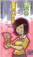 marker work - Michan and kiwi by mr187