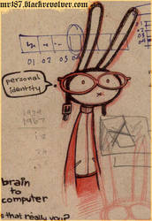 red work - Bunbun identity by mr187