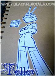 Stickerwork - Lady Telle V by mr187