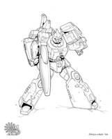 TF - Galvatron - inks by Shinjuchan