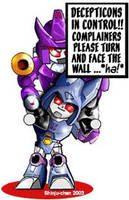 TF - Galvatron Cyclonus chibis by Shinjuchan