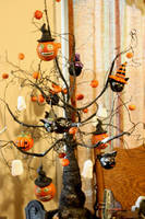 Homemade Halloween ornaments 1 by Shinjuchan