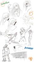 LT - SC doodles 2 by Shinjuchan