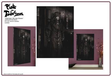 Undertaker 1851 New Orleans exclusive prints by Shinjuchan