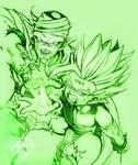 DBZ - Piccolo Gohan Tattoo - Green by Shinjuchan