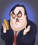 Paul Bearer Memorial Wall by Zack by Shinjuchan