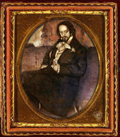 1844 Undertaker daguerreotype framed by Shinjuchan