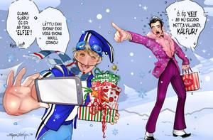 Take A Elfie by Shinjuchan