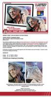 DCC 2015 Christopher Lloyd exclusive prints by Shinjuchan