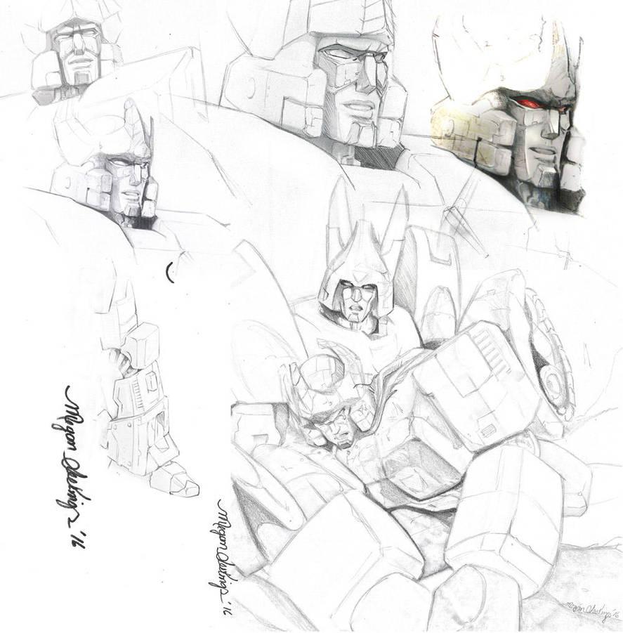 Mecha sketches by Shinjuchan