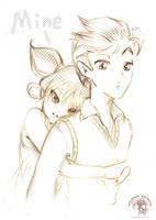 LT - Halla og Nenni by Shinjuchan