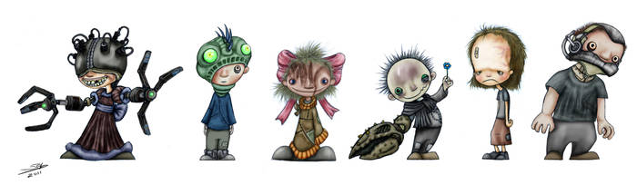 Little abominations by Gagearin