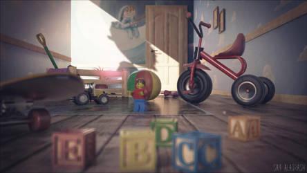 childhood mess by SaifAlatrash