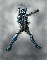Blue Beetle III by PioPauloSantana