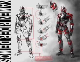 Kamen Rider Deimos Concept by PioPauloSantana