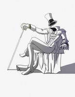 DSC Gentleman Ghost by PioPauloSantana