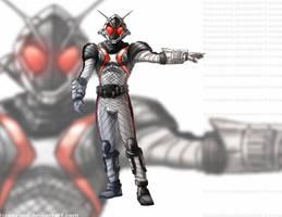 Kamen Rider Fourze Warm-Up by PioPauloSantana
