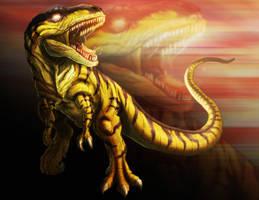Primal Rage: Sauron by PioPauloSantana