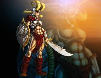 Weaponlord: Jen-Tai by PioPauloSantana