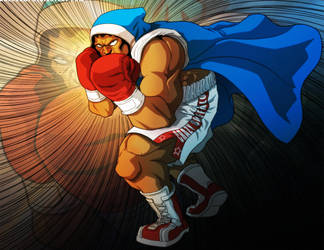 Street Fighter: Balrog by PioPauloSantana