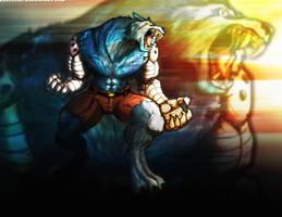 Killer Instinct: Sabrewulf by PioPauloSantana
