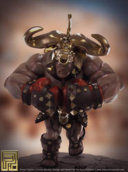 Street Fighter - Cestus Gladiator Balrog by PioPauloSantana