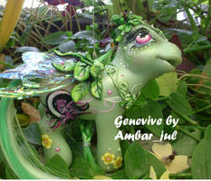 Mi little pony custom Genevive by AmbarJulieta