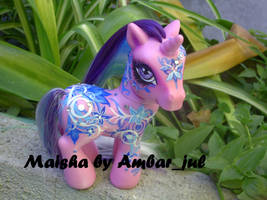 My little pony custom Maisha by AmbarJulieta