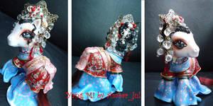 My little pony Chinese Yang Mi by AmbarJulieta