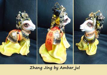 Chinese princess Zhang Jing by Ambar_jul by AmbarJulieta