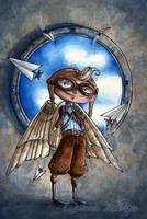 Fly by maina