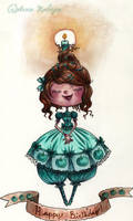 Little Apple Birthday Girl by maina