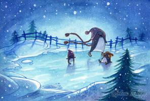 Winter Skating by maina