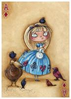 Alice : Ace of Diamonds by maina
