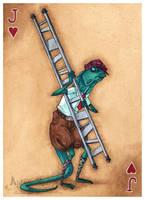 Bill the Lizard:Jack of Hearts by maina
